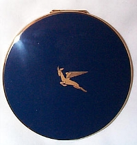 Flying Springbok powder compact