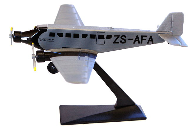 SAA Museum Historic Flight Junkers Ju-52 ZS-AFA Long Prosper-650