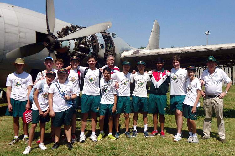 ZS-DKH Viking 2015 prep 03 Pretoria Boys Aeronautical Society John Illsley